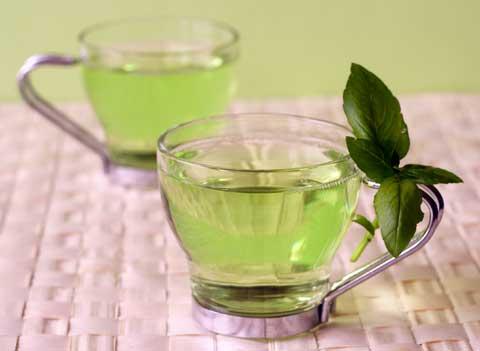 Глаза может защищать зеленый чай
