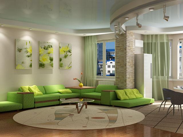 Как сделать дизайн интерьера гостиной