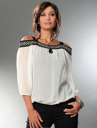 Блузки из шифона модный тренд